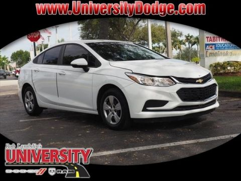 Pre-Owned 2017 Chevrolet Cruze LS Manual