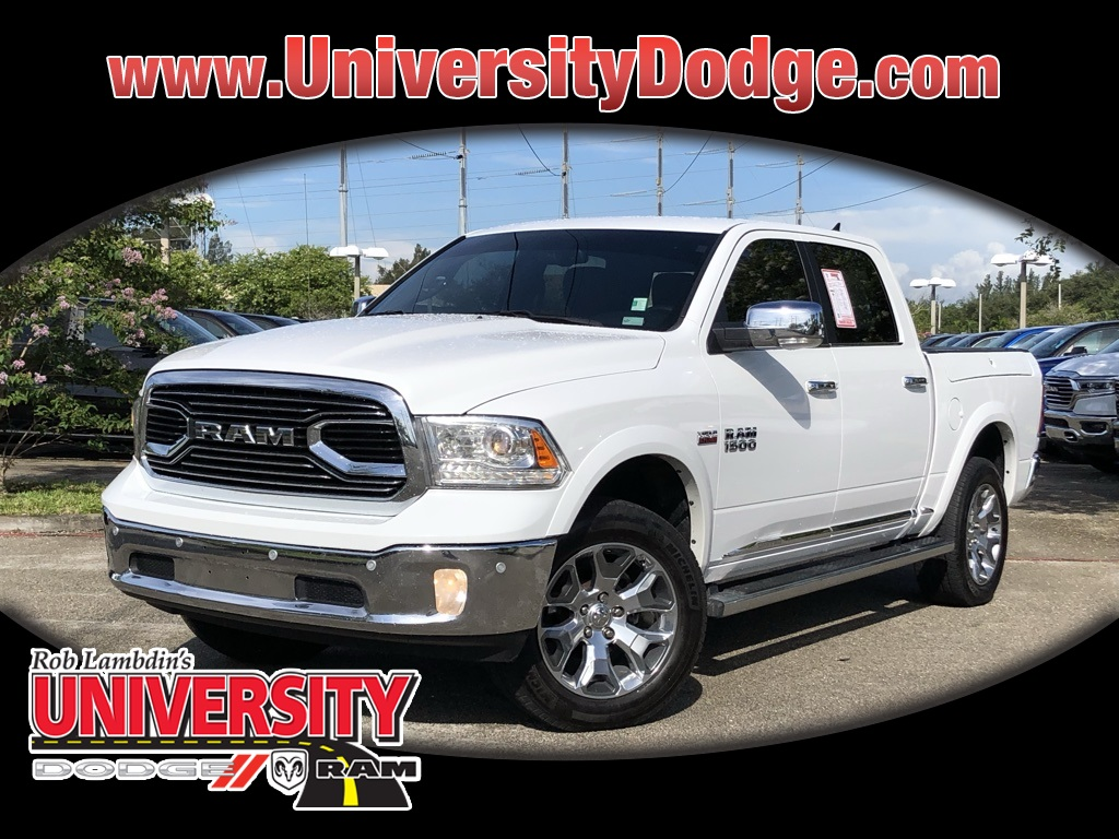 Dodge Ram 2017 >> Pre Owned 2017 Ram 1500 Laramie Longhorn With Navigation