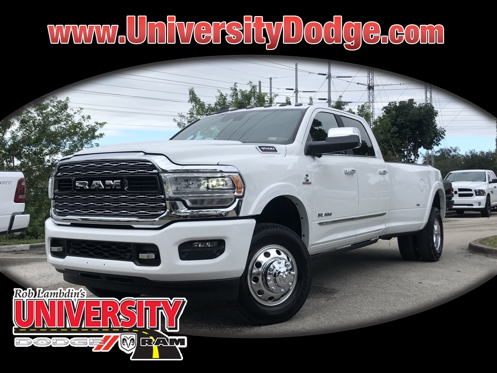 New 2019 Ram 3500 Limited Crew Cab In Davie U9t695009