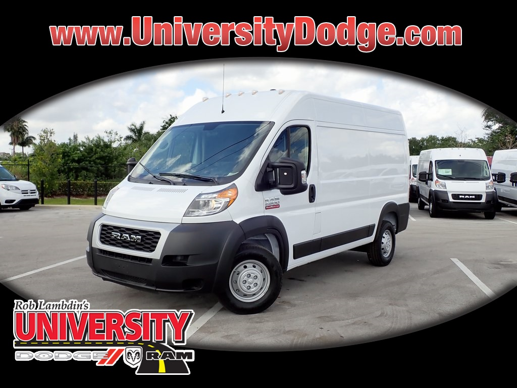 Dodge Ram Promaster >> New 2019 Ram Promaster High Roof Cargo Van In Davie U9t527472