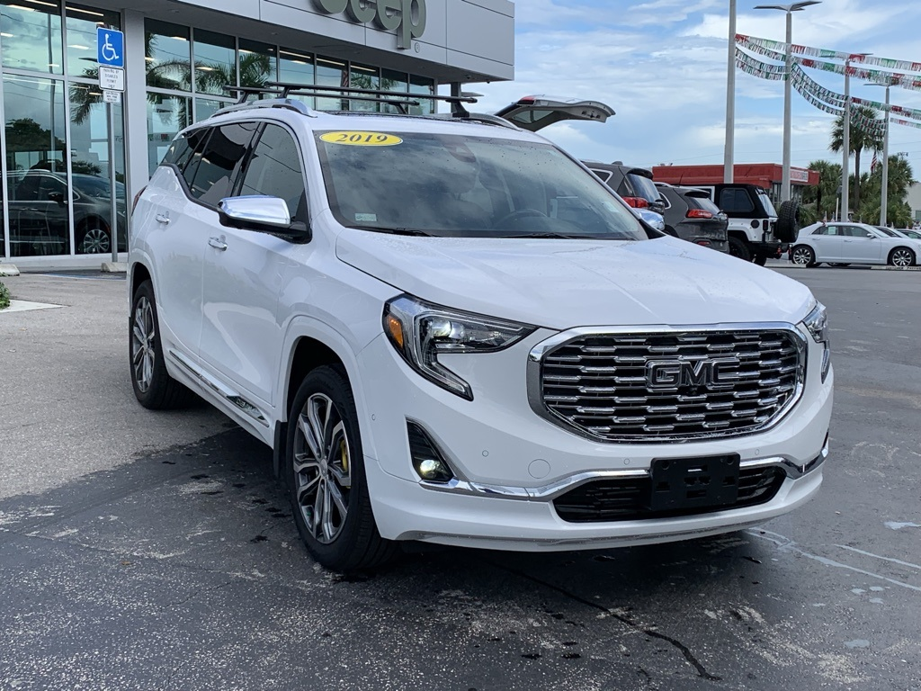 Gmc Terrain Denali >> Pre Owned 2019 Gmc Terrain Denali With Navigation