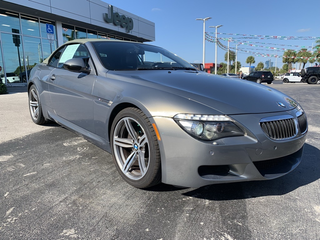 Pre-Owned 2010 BMW M6 Base