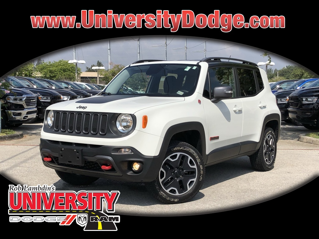 Certified Pre-Owned 2015 Jeep Renegade Trailhawk